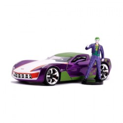 Figur DC Comics Diecast 2009 Chevy Corvette Stingray with Figure Vehicles DC Comics Jada Toys Geneva Store Switzerland