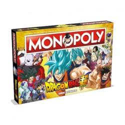 Figurine Dragon Ball Super jeu de plateau Monopoly Winning Moves Boutique Geneve Suisse