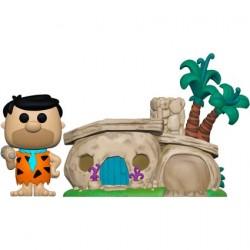 Figurine Pop The Flintstones Fred Flintstone avec la Maison des Flintstone Funko Boutique Geneve Suisse