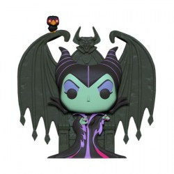 Figurine Pop Sleeping Beauty Maleficent on Throne Deluxe Funko Boutique Geneve Suisse