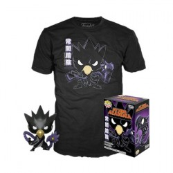 Figur Pop and T-shirt My Hero Academia Fumikage Tokoyami Metallic Limited Edition Funko Geneva Store Switzerland
