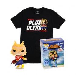 Figuren Pop Phosphoreszierend und T-shirt My Hero Academia All Might Limitierte Auflage Funko Genf Shop Schweiz