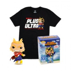 Figurine Pop Phosphorescent et T-shirt My Hero Academia All Might Edition Limitée Funko Boutique Geneve Suisse