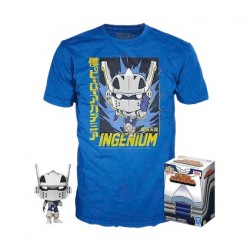Figur Pop and T-shirt My Hero Academia Tenya with Helmet Limited Edition Funko Geneva Store Switzerland
