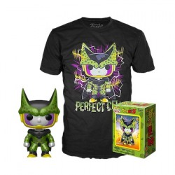 Figur Pop and T-shirt Dragon Ball Z Perfect Cell Metallic Limited Edition Funko Geneva Store Switzerland
