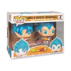 Figurine Pop Dragon Ball Super Goku et Vegeta Baseball 2-pack Edition Limitée Funko Boutique Geneve Suisse