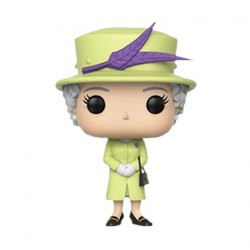 Figurine Pop Celebs Royal Family Queen Elisabeth II Green Outfit (Rare) Funko Boutique Geneve Suisse