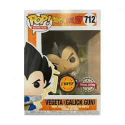 Figurine Pop Metallic Dragon Ball Z Vegeta Galick Gun Chase Edition Limitée Funko Boutique Geneve Suisse