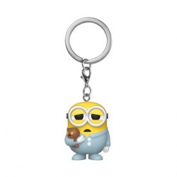 Figur Pop Pocket Keychains Minions II Pajama Bob Funko Geneva Store Switzerland