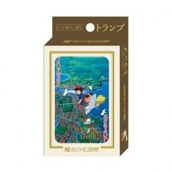 Figurine Kiki la petite sorcière jeu de cartes à jouer Benelic - Studio Ghibli Boutique Geneve Suisse
