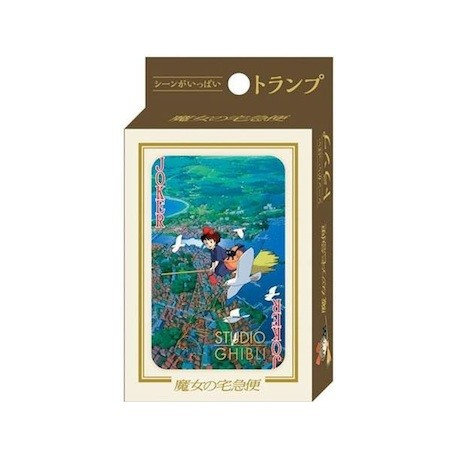 Figur Kiki's Delivery Service Playing Cards Benelic - Studio Ghibli Geneva Store Switzerland