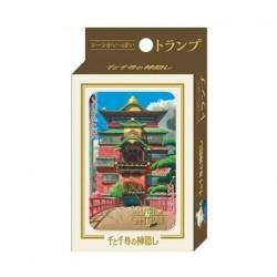 Figurine Le Voyage de Chihiro jeu de cartes à jouer Benelic - Studio Ghibli Boutique Geneve Suisse