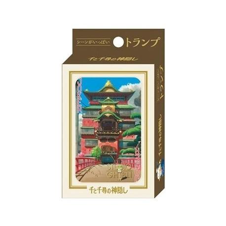 Figur Spirited Away Playing Cards Benelic - Studio Ghibli Geneva Store Switzerland