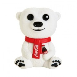 Figur Pop Flocked Coca-Cola Polar Bear Limited Edition Funko Geneva Store Switzerland