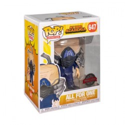 Figurine Pop My Hero Academia All for One Charged Edition Limitée Funko Boutique Geneve Suisse