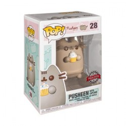 Figurine Pop Pusheen Pusheen with Cupcake Edition Limitée Funko Boutique Geneve Suisse