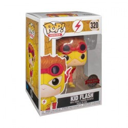Figurine Pop Young Justice Kid Flash Edition Limitée Funko Boutique Geneve Suisse