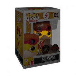 Figurine Pop Young Justice Kid Flash Chase Edition Limitée Funko Boutique Geneve Suisse