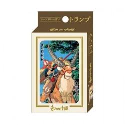Figurine Princesse Mononoké Jeu de Cartes à Jouer Benelic - Studio Ghibli Boutique Geneve Suisse