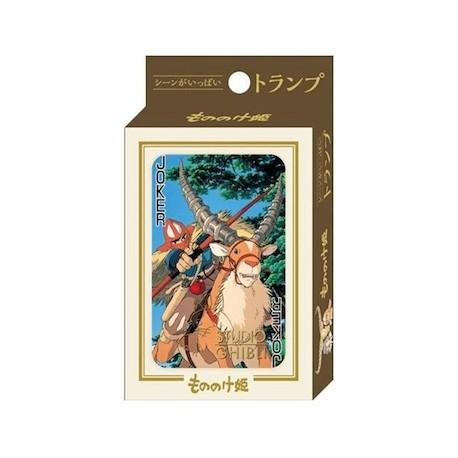 Figur Princess Mononoke Playing Cards Benelic - Studio Ghibli Geneva Store Switzerland
