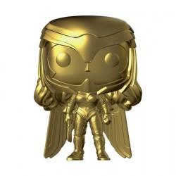 Figurine Pop Chrome Wonder Woman 1984 Wonder Woman Gold Edition Limitée Funko Boutique Geneve Suisse