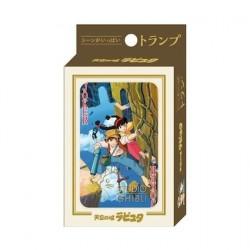 Figurine Le Château dans le Ciel Jeu de Cartes à Jouer Benelic - Studio Ghibli Boutique Geneve Suisse