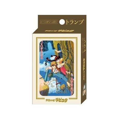 Figur Castle in the Sky Playing Cards Benelic - Studio Ghibli Geneva Store Switzerland