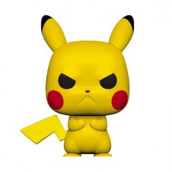 Figur Pop Pokemon Pikachu Grumpy (Rare) Funko Geneva Store Switzerland