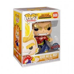 Figurine Pop Metallic My Hero Academia All Might Edition Limitée Funko Boutique Geneve Suisse