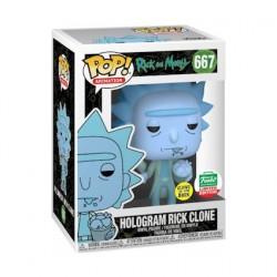 Figuren Pop Phosphoreszierend Rick und Morty Hologram Rick Clone Limitierte Auflage Funko Genf Shop Schweiz