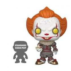 Figurine Pop 25 cm It Chapter 2 Pennywise with Boat Funko Boutique Geneve Suisse