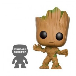Figur Pop 25 cm Marvel Guardians of The Galaxy 2 Life-Size Young Groot Limited Edition Funko Geneva Store Switzerland