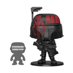 Figurine Pop 25 cm Star Wars Boba Fett Black Edition Limitée Funko Boutique Geneve Suisse