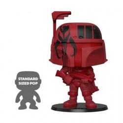 Figurine Pop 25 cm Star Wars Boba Fett Red Edition Limitée Funko Boutique Geneve Suisse