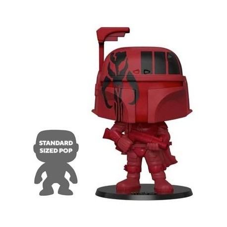 Figur Pop 25 cm Star Wars Boba Fett Red Limited Edition Funko Geneva Store Switzerland