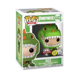 Figurine Pop Fortnite Phosphorescent Rex Edition Limitée Funko Boutique Geneve Suisse
