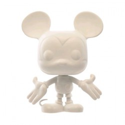 Figurine Pop à Customiser Disney Mickey Mouse 90th Anniversary (Rare) Funko Boutique Geneve Suisse