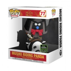 Figur Pop ECCC 2020 Mulan Mushu riding Panda Limited Edition Funko Geneva Store Switzerland