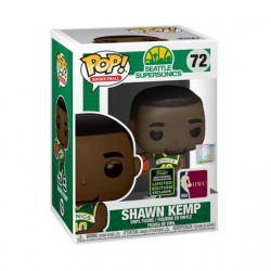 Figur Pop ECCC 2020 NBA Sonics Shawn Kemp Limited Edition Funko Geneva Store Switzerland