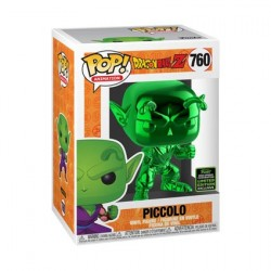 Figuren Pop ECCC 2020 Chrome Dragon Ball Z Piccolo Green Limitierte Auflage Funko Genf Shop Schweiz