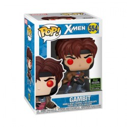 Figur Pop ECCC 2020 X-Men Gambit Classic Limited Edition Funko Geneva Store Switzerland