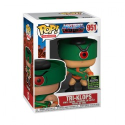 Figur Pop ECCC 2020 Masters of the Universe Tri-Klops Limited Edition Funko Geneva Store Switzerland