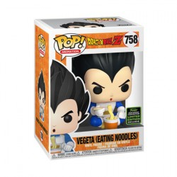 Figurine Pop ECCC 2020 Dragon Ball Z Vegeta eating Noodles Edition Limitée Funko Boutique Geneve Suisse
