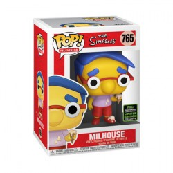 Figurine Pop ECCC 2020 The Simpsons Milhouse Edition Limitée Funko Boutique Geneve Suisse