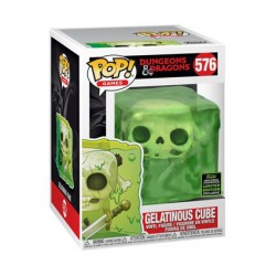 Figur Pop ECCC 2020 Dungeons and Dragons Gelatinous Cube Limited Edition Funko Geneva Store Switzerland