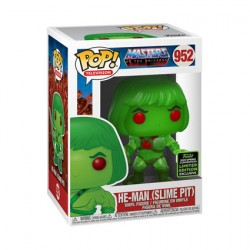 Figur Pop ECCC 2020 Masters of the Universe He-Man Slime Pit Limited Edition Funko Geneva Store Switzerland
