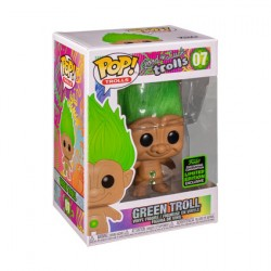 Figur Pop ECCC 2020 Good Luck Trolls Green Troll Doll Limited Edition Funko Geneva Store Switzerland
