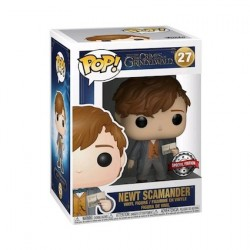 Figur Pop Fantastic Beasts 2 The Crimes of Grindelwald Newt Scamander with Postcard Limited Edition Funko Geneva Store Switze...