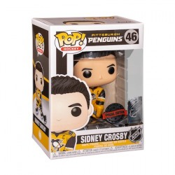 Figur Pop Hockey NHL Sidney Crosby Pittsburgh Penguins Limited Edition Funko Geneva Store Switzerland