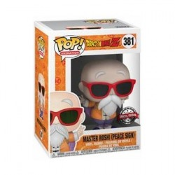 Figurine Pop Dragon Ball Z Master Roshi Peace Sign Edition Limitée Funko Boutique Geneve Suisse